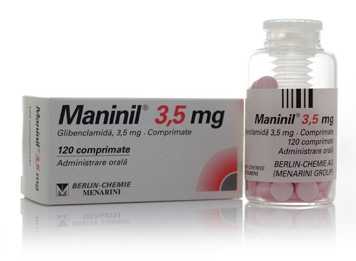 Манинил таблетки