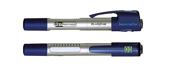 Ручка биоматик