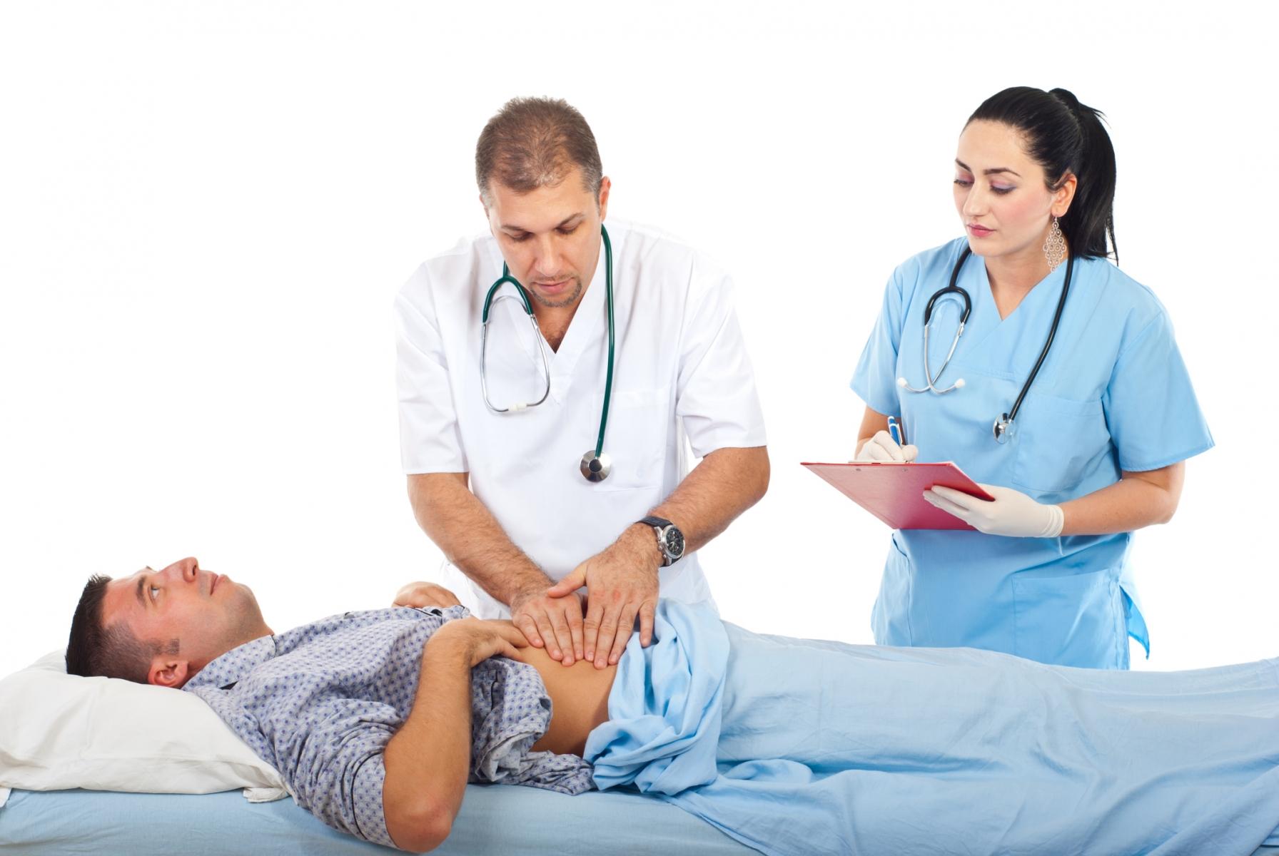 Приступ панкреатита помощь