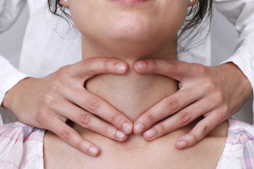 Увеличение щитовидки на ранней стадии